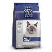 Корм  для взрослых кошек с чувствительным пищеварением Gina (Джина) Elite ADULT CAT Sensitive